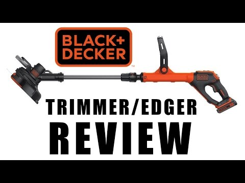BLACK + DECKER LSTE525 Trimmer / Edger Review or Weed Eater from YouTube · Duration:  3 minutes 39 seconds