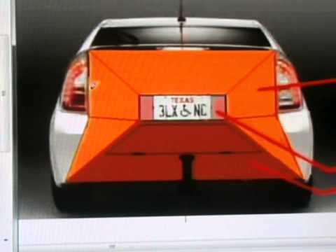 Reducing Drag On Rear Of Prius to 12%