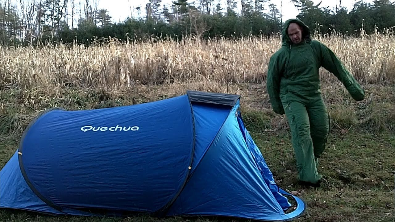 Quechua Instant Tent And Selk Bag Sleeping Suit Celegreat Outdoors You