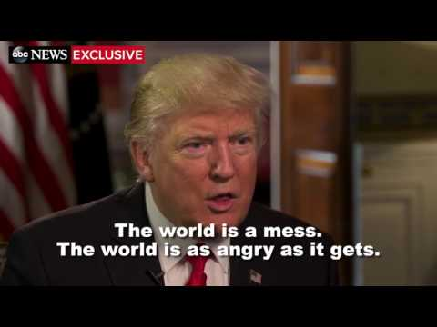 Trump: The World Is a Mess | Trump Interview with David Muir | ABC News
