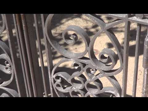 Video Tour of the Disneyland Resort Ironwork (Wrought Iron Fences & Gates)