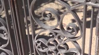 Video Tour Of The Disneyland Resort Ironwork (wrought Iron Fences & Gates)