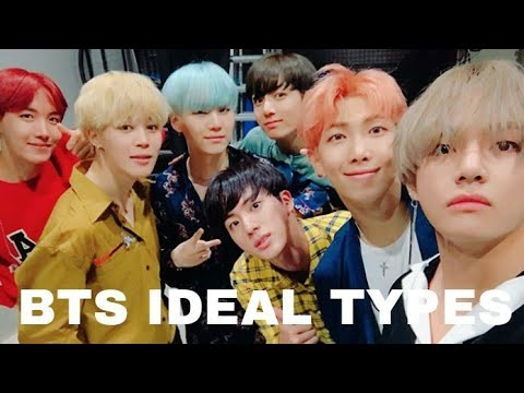 [UPDATED]BTS Ideal Types(Height, Weight, Age, Style)