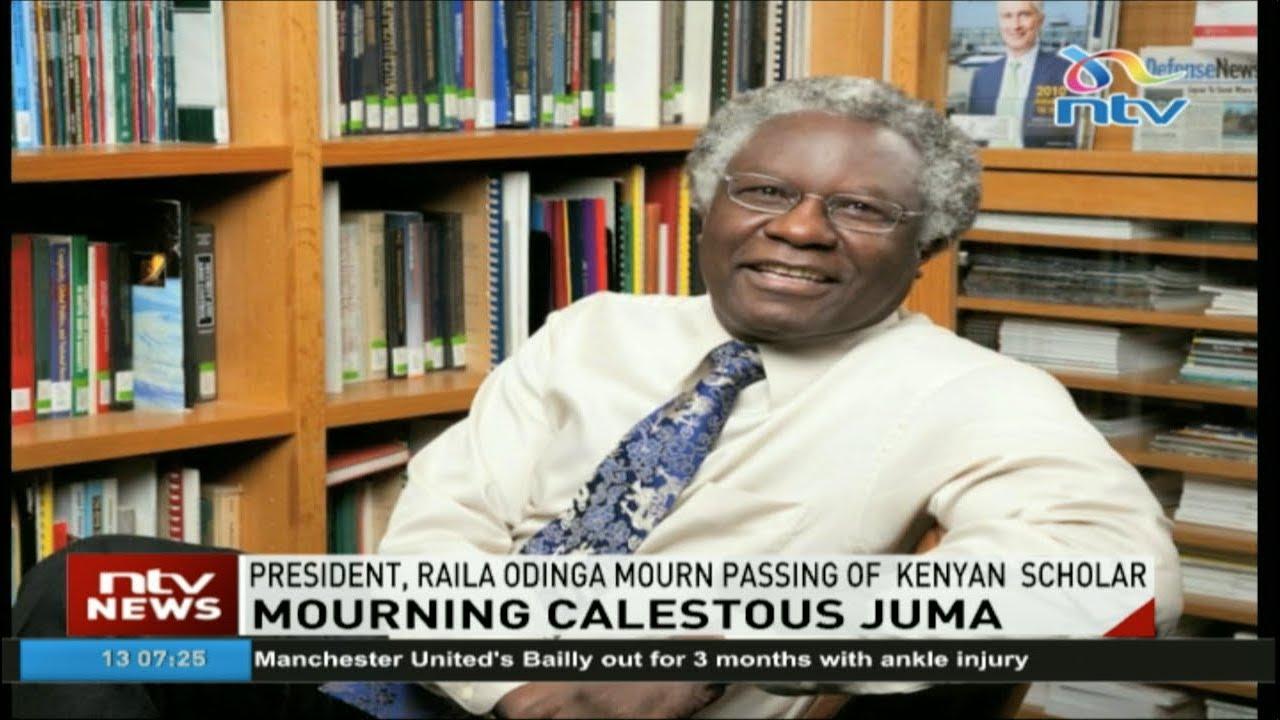 President Kenyatta, Raila Odinga mourn death of Calestous Juma