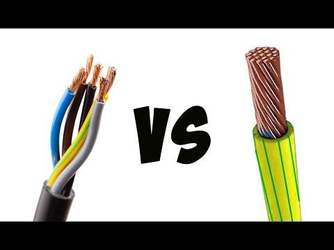 В чём отличие кабеля от провода и что выбрать
