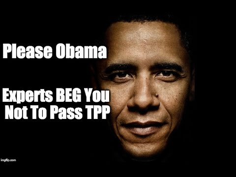 HUNDREDS of Lawyers & Economists BEG Obama To Reject Trans-Pacific Partnership