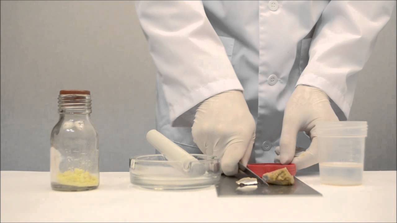 Сера и металлический натрий/Sulphur and sodium