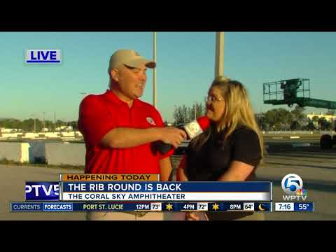 Rib Round Up is back at The Coral Sky Amphitheater