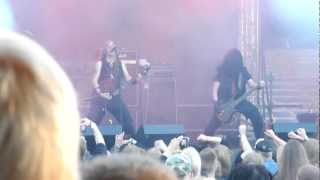 Vader - live at Jalometalli 2012 (Ultima Thule, Morbid Reich, Sothis) HD