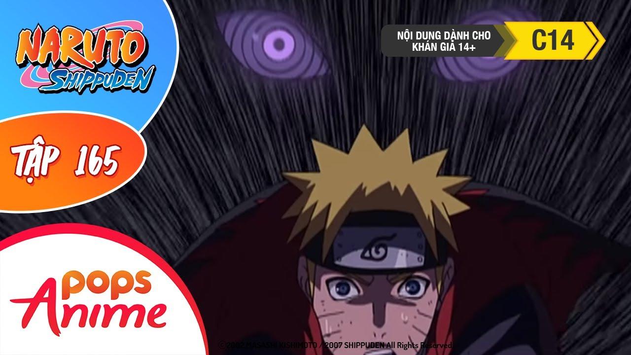 Naruto Shippuden Tập 165 - Cửu Vĩ Bị Bắt Giữ - Trọn Bộ Naruto Lồng Tiếng
