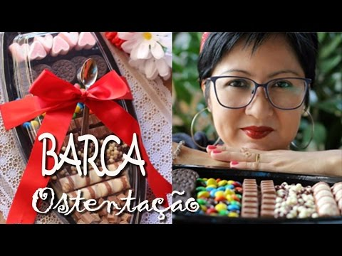 BARCA DE CHOCOLATE OSTENTAÇÃO | DELÍCIAS DE PÁSCOA | DIKA DA NAKA