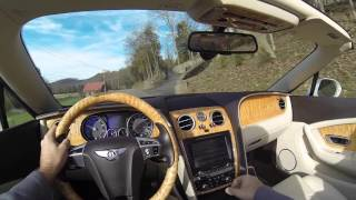 2014 Bentley Continental GTC First Person POV Test Drive