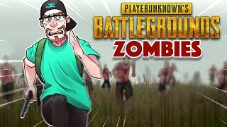 RUN FROM ZOMBIES! PlayerUnknown's Battlegrounds ZOMBIES! (PUBG Funny Moments)
