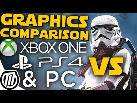 Star Wars Battlefront: PS4 vs Xbox One vs PC Graphics Comparison (1080p)