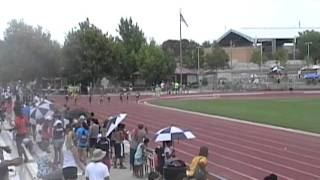 Jacobe Covington & Bijan Tolton 2011 Region 10 Jr. Olympics 200m Final