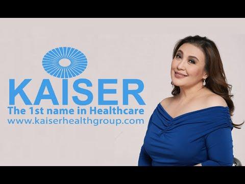 Kaiser Healthcare Ambassador Sharon Cuneta