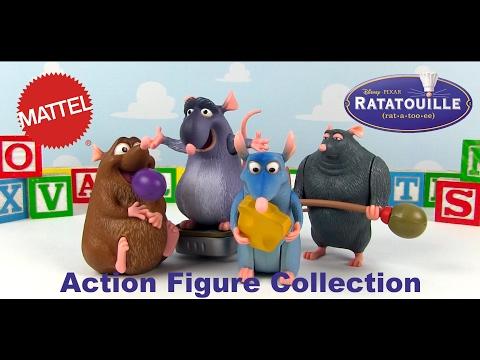 Mattel 2007 Disney·Pixar Ratatouille Toys Action Figure Collection
