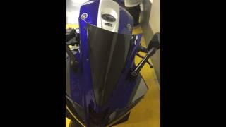 Baixar Yamaha yzf r125 2015 the carbon king winscreen,brembo brake pro grip thank pad- ימאהה