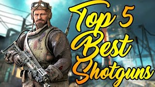 Top 5 Best Shotguns in Call of Duty Zombies! - Black Ops 3, Black Ops 2, Black Ops 1 and more