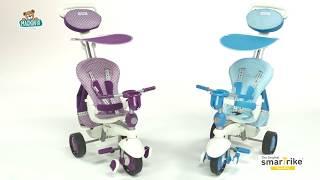 Trojkolka Splash 5v1 Purple&White smarTrike