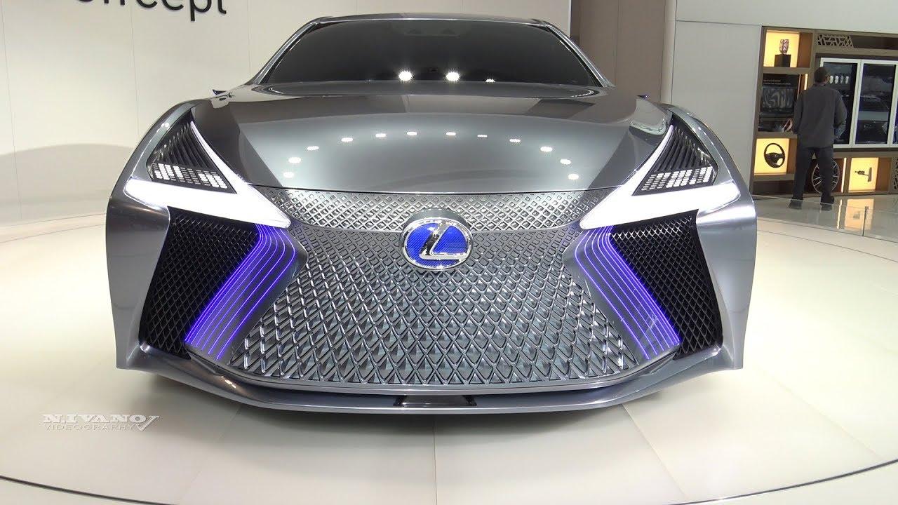 Lexus LS+ Consept - Exterior Walkaround - 2018 Toronto Auto Show