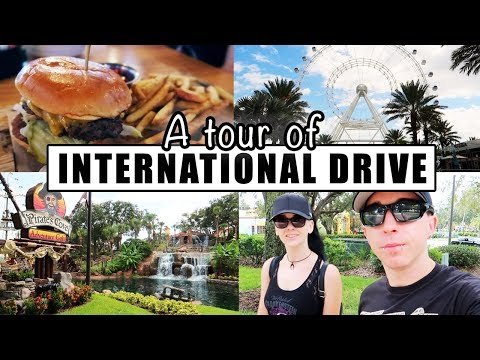 Attractions & Restaurants on International Drive - Rosen Inn at Pointe