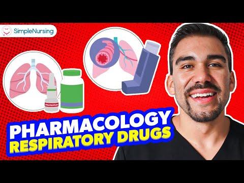 Pharmacology Respiratory drugs: Memorization Tips for Nursing Students RN PN (MADE EASY)