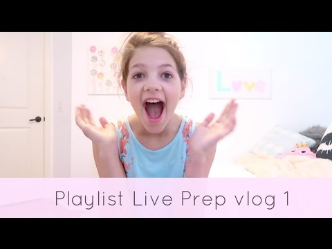 Shopping & Packing for Playlist Live 2017
