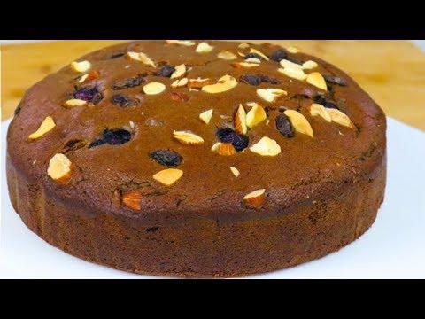 PRESSURE COOKER Eggless Chocolate cake   DryFruit Cake ...