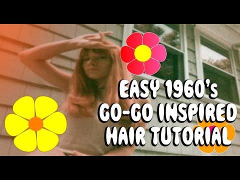 ✿ EVERYDAY 1960's Go-go Inspired Hair Tutorial | FAST & EASY ✿ thumbnail