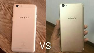 OPPO F3 VS VIVO V5S FULL COMPARISON (HINDI)