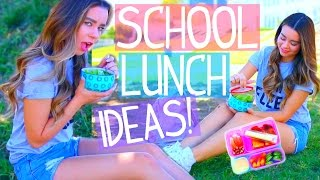 Quick & Easy Lunch Ideas for School!