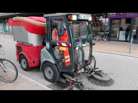 Sweeper in Kiel Germany