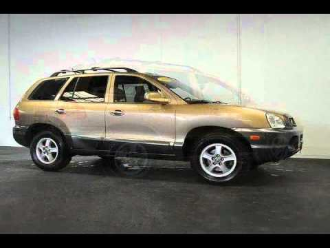 2004 Hyundai Santa Fe Gold Spokane Valley Wa Youtube