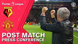 Mourinho praises Fellaini, De Gea & Smalling after Watford win | Watford 1-2 Manchester United