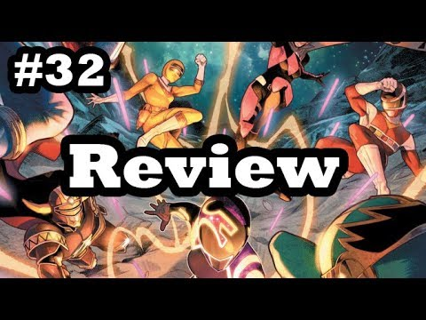 Mighty Morphin Power Rangers Issue #32 Review (Beyond the Grid)