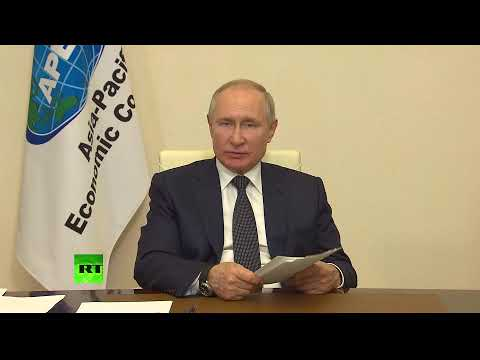 President Putin delivers speech at Asia-Pacific Economic Cooperation leaders' online meeting [TAPE]