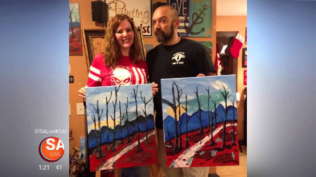 Painting with a twist san antonio youtube for Painting with a twist san diego