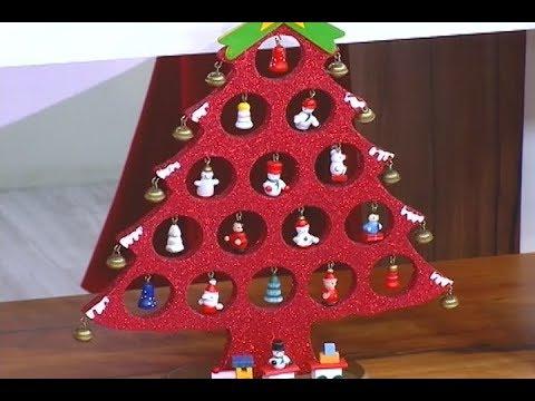 Dicas De Artesanato Aprenda A Fazer Uma Arvore De Natal Em Mdf