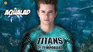 AQUALAD NA 2ª TEMPORADA DE TITÃS! Titans Season 2 Revelado Ator Será Aqualad