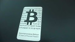 2019 Bitcoin Metal Wallet (Lynx Art) - Physical Bitcoin Revealed