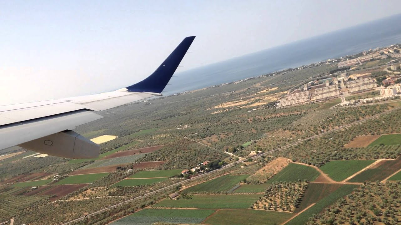 Bari, Italy - Takeoff from Bari Karol Wojtyła Airport HD ...