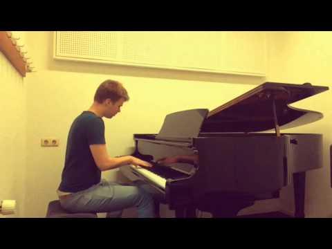 Matt Corby - Made Of Stone (piano instrumental cover)