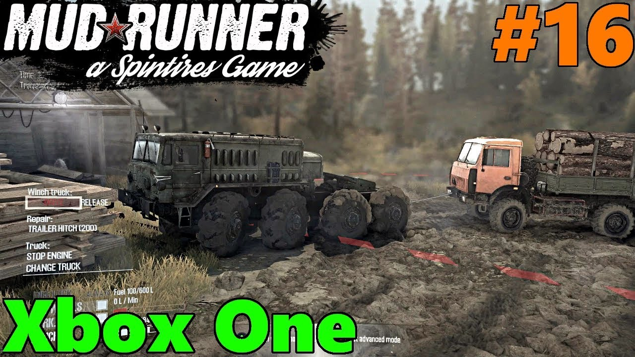 spintires mud runner xbox one let 39 s play part 16 out. Black Bedroom Furniture Sets. Home Design Ideas