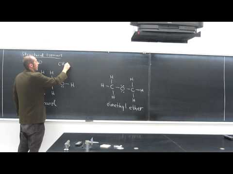 Introduction to Organic - Structural Isomers C2H6O 001