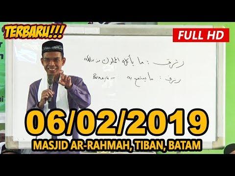 ceramah-terbaru-ustadz-abdul-somad-lc,-ma---masjid-ar-rahmah,-tiban,-batam