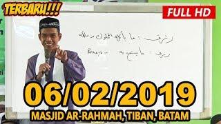 Ceramah Terbaru Ustadz Abdul Somad Lc Ma Masjid Ar Rahmah Tiban Batam