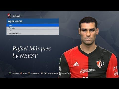 Rafa Márquez PES 2017 Face by NEEST