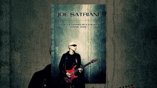 Joe Satriani - Live at the Grand Rex Theater, Paris