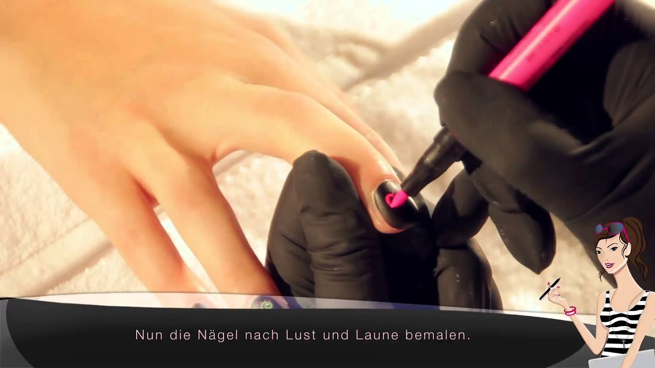 Tutorial Flashy Neons Nagellack von Trosani - YouTube